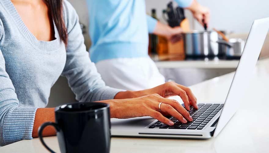 how to get vodafone bill online