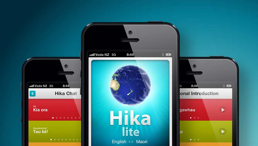 Hika Lite App on a mobile