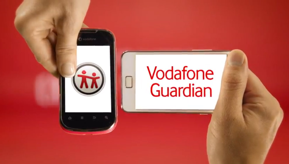 Vodafone Guardian Video Image