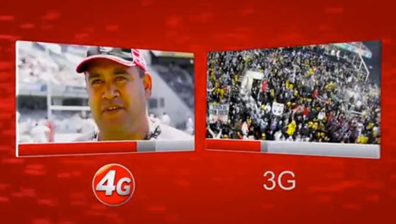4G vs 3G standard-Streaming Videos