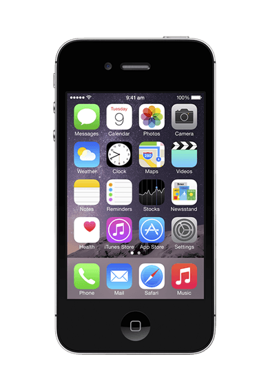 iPhone 4s - Black