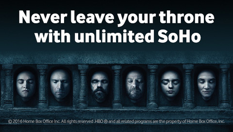 Never leave your throne with unlimited SoHo