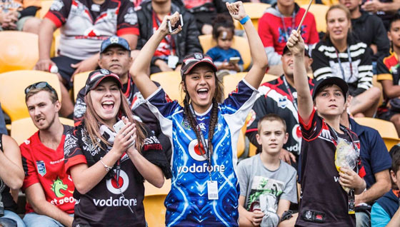 Win tickets to see Vodafone Warriors take on the Rabbitohs