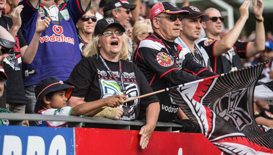 Win tickets to see Vodafone Warriors take on the Eels