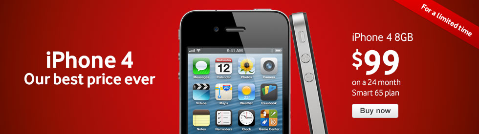 iPhone 4 - our best price ever