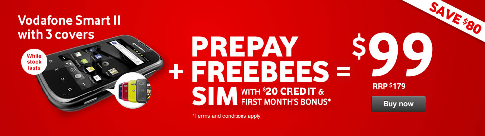 Prepay Freebees and Smart II bundle