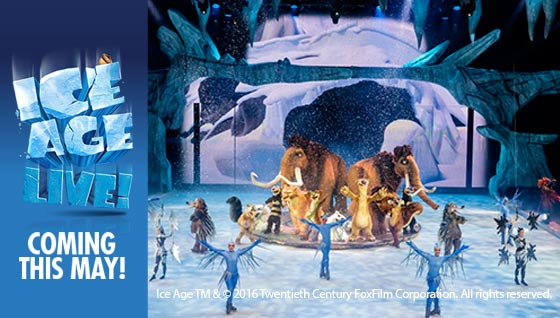 Ice Age Live! Coming this May.