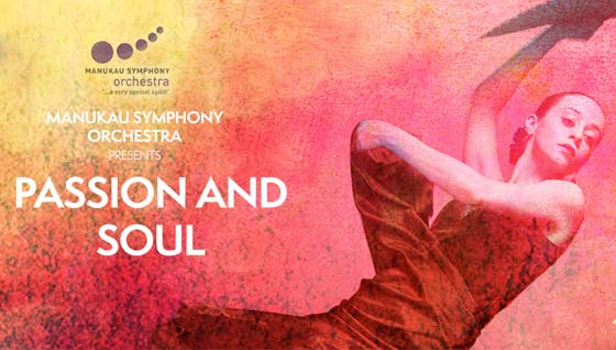 Manukau Symphony Orchestra presents Passion and Soul