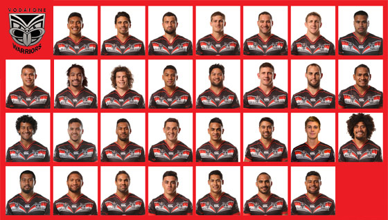 Vote for your favourite Vodafone Warrior for a chance to win