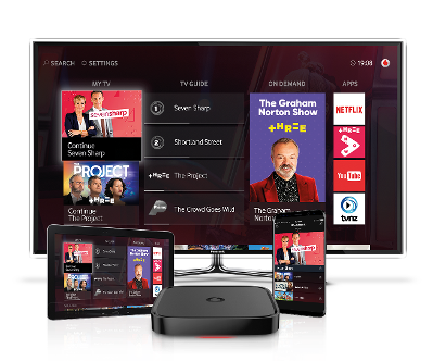 Sign up for Vodafone TV with fast Broadband - Vodafone NZ