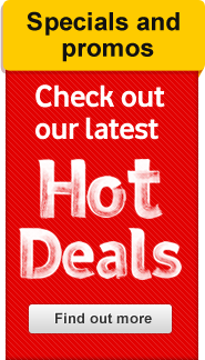 Check out our latest Hot Deals